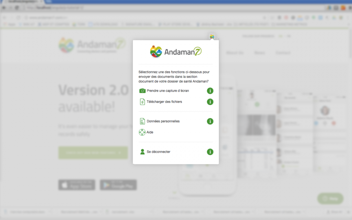 Become beta tester of our google chrome extension | Andaman7