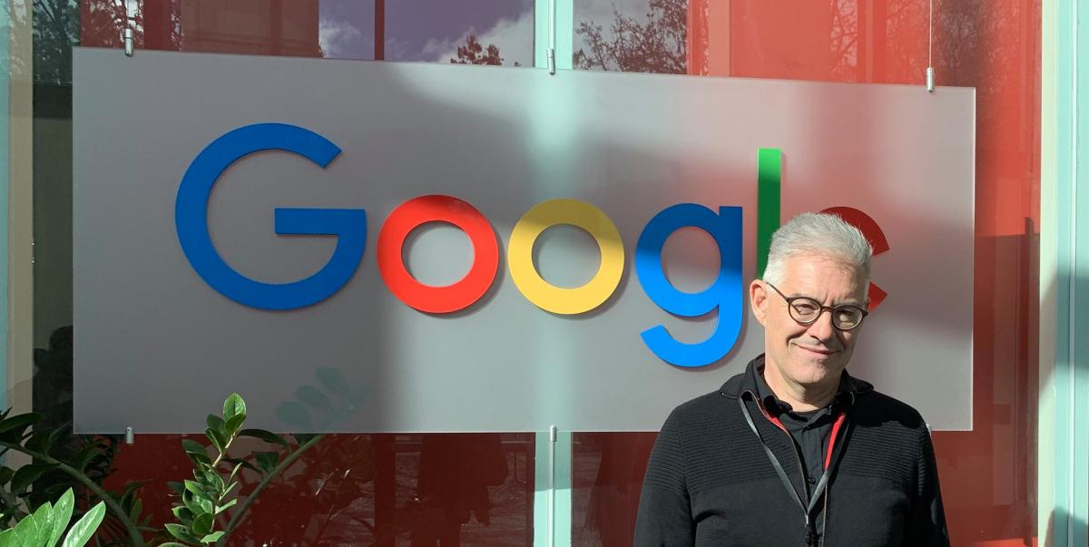 Andaman7's founder & CEO, Vincent Keunen, visiting Google in Silicon Valley