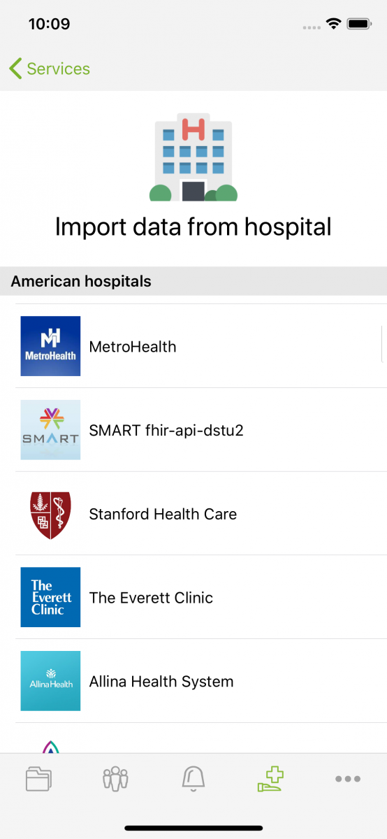 Get your health data from your hospital in Andaman7