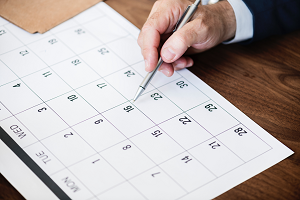 Calendar of events for the month of June 2019