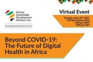 Beyond COVID-19: The Future of Digital Health in Africa - After the webinar